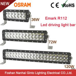 LEIDENE van Osram van de Rij van Emark R112 36W 8.0inch van de premie Dubbele Lichte Staaf voor Offroad 4X4 (GT3106-36W)