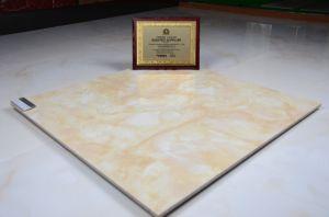 600*600、800*800mmの十分に艶をかけられた磨かれた磁器の床タイル、建築材料、大理石のコピーの陶磁器の床タイル
