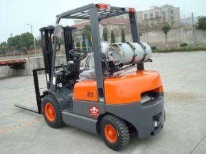 2 de Vorkheftruck van de Benzine van LPG van de ton met Automatische Transmissie van China