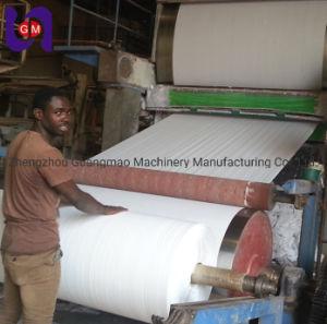 2100mm Secador único e cilindro de papel higiénico do molde tecido/Máquina de Papel