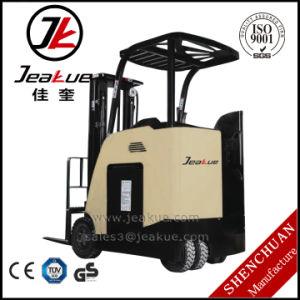 China de Elektrische Vorkheftruck Met drie wielen van de Lader van de Batterij van 1.6 Ton