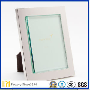 2017 Venda quente 3mm 2mm transparente de vidro transparente para imagem ou Estrutura de arte