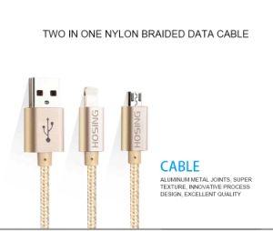 Нейлоновые зарядный кабель USB оплеткой из Китая поставщика