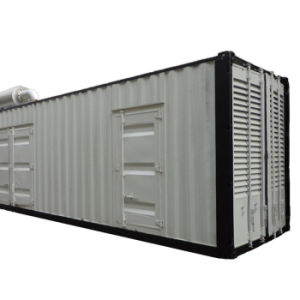 Tipo diesel portatile cinese del contenitore tramite il gruppo elettrogeno di Cummins