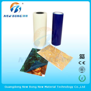 Bleu transparent de couleur claire ou PE des films de protection pour la céramique ou de pierre