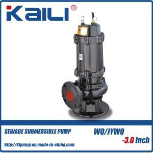 3pulgadas WQ sumergible de aguas residuales bomba de agua