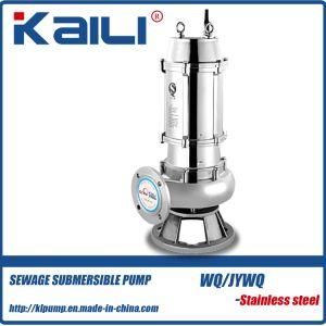 4 pulgadas WQ Non-Clog sumergible de aguas residuales bomba de agua