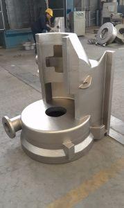 Châssis de la pompe de coulage en sable de haute qualité des pièces de moulage
