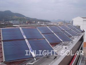 La parte superior Qaulity bajo precio del acero de Color de tubo de vacío colector solar