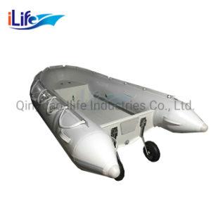 De alta calidad de Aluminio de Ilife baratos embarcaciones pesqueras con casco de aluminio
