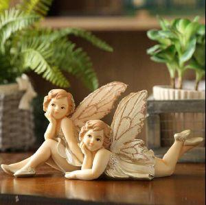 販売のためのカスタム高品質の樹脂の庭の妖精の彫像