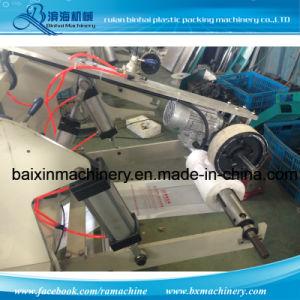 Velocidad media de 220 PCS/Min T-Shirt Bags que hace la máquina