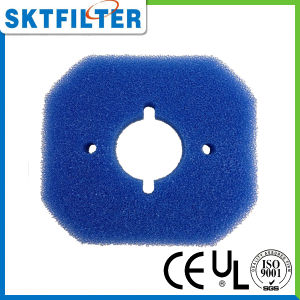 O filtro de espuma esponja