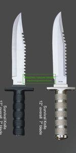 Cuchillo de caza de cuchilla cuchilla 9575007 al aire libre Camping