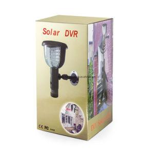 La detección de movimiento de la seguridad del hogar jardín exterior impermeable de la luz de infrarrojos de la energía solar 39 DVR Grabador de vídeo cámara CCTV