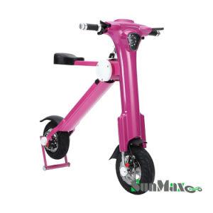 350W à deux roues scooter électrique Rose 12 pouces