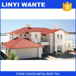 環境の友好的な屋根ふき材料の石の上塗を施してある金属の屋根瓦