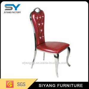 Mobiliário de Hotel Red banquetes Restaurante cadeira de metal moderno cadeira de presidente