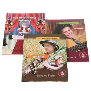 Diferentes tipos de livro de capa dura, caso o serviço de impressão vinculada