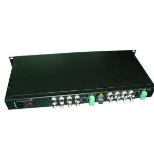 16 قناة فيديو/وسائل سمعيّة/معطيات/هاتف/إثرنيت ليف [أبتيكل ترنسميتّر] جهاز استقبال ([ج-16ف-تل])