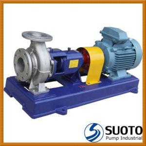 Pompe centrifuge en acier inoxydable de produits chimiques