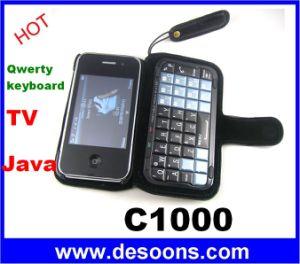 Telefono Qwerty di cinese di Onki C1000 Keboard TV Java