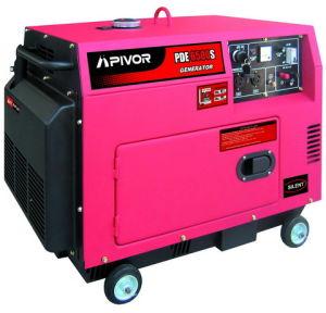 Conjunto de gerador a diesel (PDE6500S(T)-R)