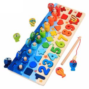 2020 Mejor Venta caliente Ningbo niños preescolares mayorista verde agradable buena educación para niños juguetes de madera jardín de infantes