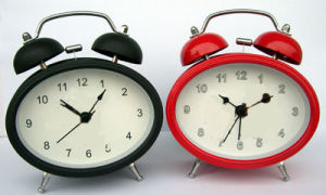 Twin Bell Alarm Clock (KV3004)