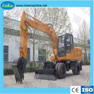 Het Merk Hblk 150 van China de Model Hydraulische Graver van het Wiel