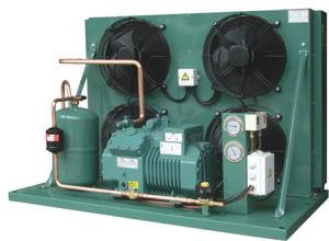 Unidade de condensação resfriado a ar com Compressor Bitzer