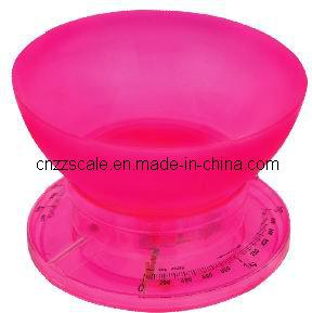 2kg mechanische Schuppe Blance (ZZSP-401-R) der Küche-