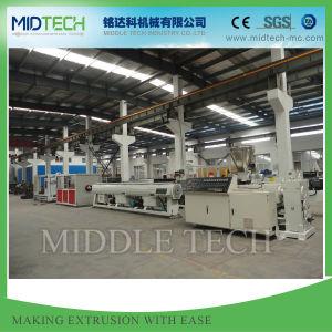 Midtech plastique PVC/PVC/PE/PP/PPR/LDPE de pression de l'eau/électricité Canalisation/profil de fenêtre/ (extrudeuse&) de lève-extrusion extrusion Prix/Making Machine