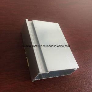 Quadrato, profilo rotondo e differente dell'espulsione della lega di alluminio per il portello e tubo 57 della finestra