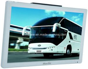 Barramento de acessórios automóveis 21,5 polegadas TV em cores de vídeo Monitor de carro