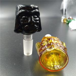 14mm 18mm Star Wars Darth Vader fregadero Recipientes de cristal para tubo de agua