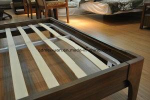 Festes hölzernes Bett-moderne doppelte Betten (M-X2297)