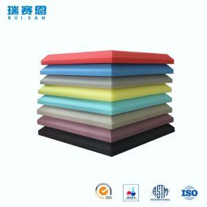 Écrans antibruits d'insonorisation à haute densité de fibre de polyester d'usine de la Chine