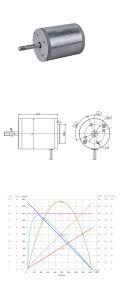 Cepillo de 24V 12V DC Motor eléctrico para trituradora de papel