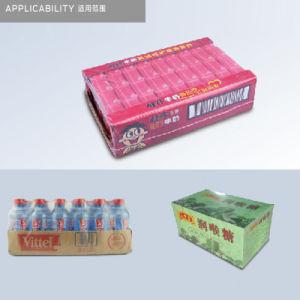 Les bouteilles de boissons automatique Machine de Conditionnement Bouteille Machine d'enrubannage