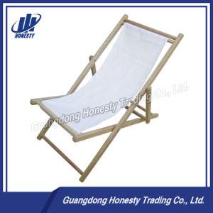 L004 나무로 되는 Folable 기대는 비치용 의자