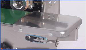 Continúa la máquina de sellado de la banda horizontal de la película, la bolsa, Lámina (SF-150W)
