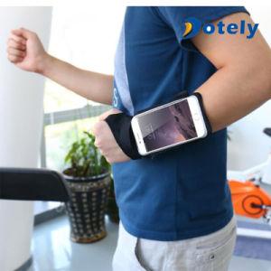 Bande courante de poche de support de téléphone de bras de sport