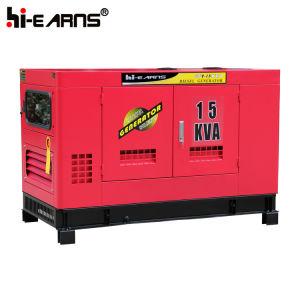 12квт скрытой установки с водяным охлаждением дизельные генераторные установки (GF2-12КВТ)