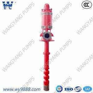 Eixo longo Overhung turbina vertical Grupo da bomba de incêndio de poços