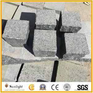 De natuurlijke Goedkopere Zwarte/Witte/Grijze Tegels van de Vloer van het Graniet van de Steen Openlucht