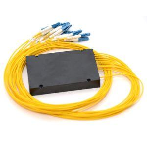 16 Sc Upc PLC GponのディバイダーのモジュールへのABS FTTH 1
