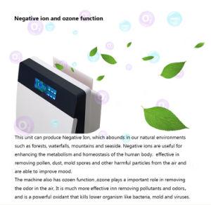 Su uso en casa el purificador de aire de aniones con mando a distancia 8138