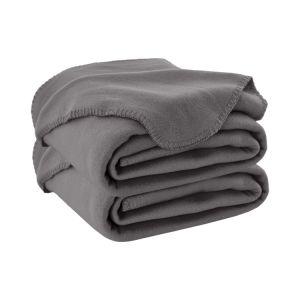 فرشاة ليّنة [ميكروفيبر] صوف غطاء فائقة دافئ مريحة كلّ فصل منافس من الوزن الخفيف صلبة رمي أغطية لأنّ سرير أو أريكة