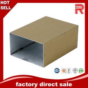 China el aluminio/aluminio perfil de color dorado para la prensa6063